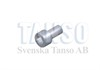 Special screw for power feed contact
