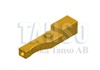 Holder for power feed contact - lower